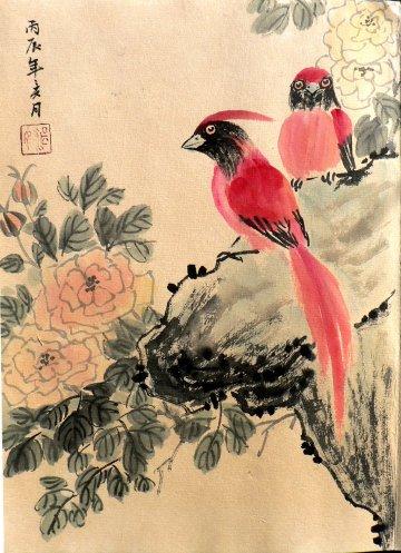 click for detailed image ChineseRedbirdsVLG.JPG